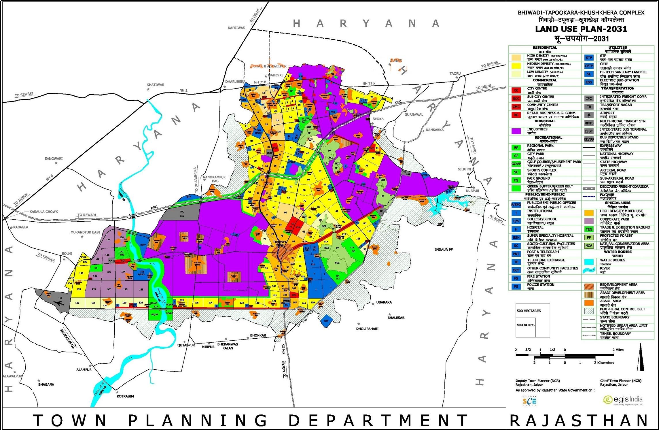 bhiwadi master plan