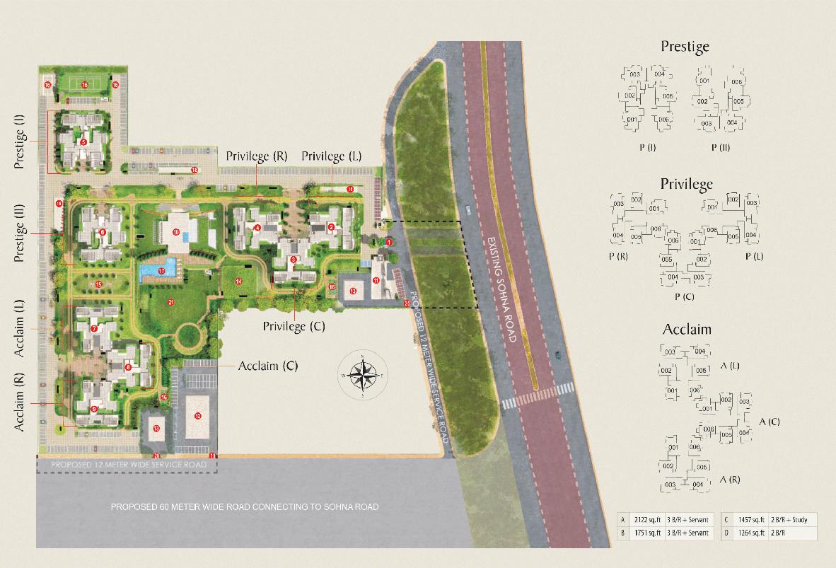 eldeco site plan