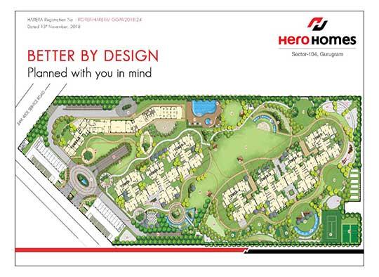 hero home site plan