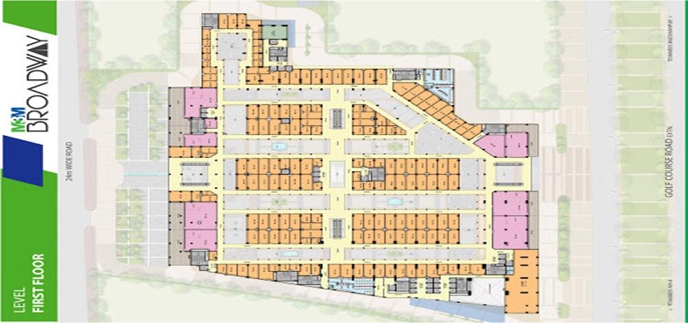 m3m floor plan
