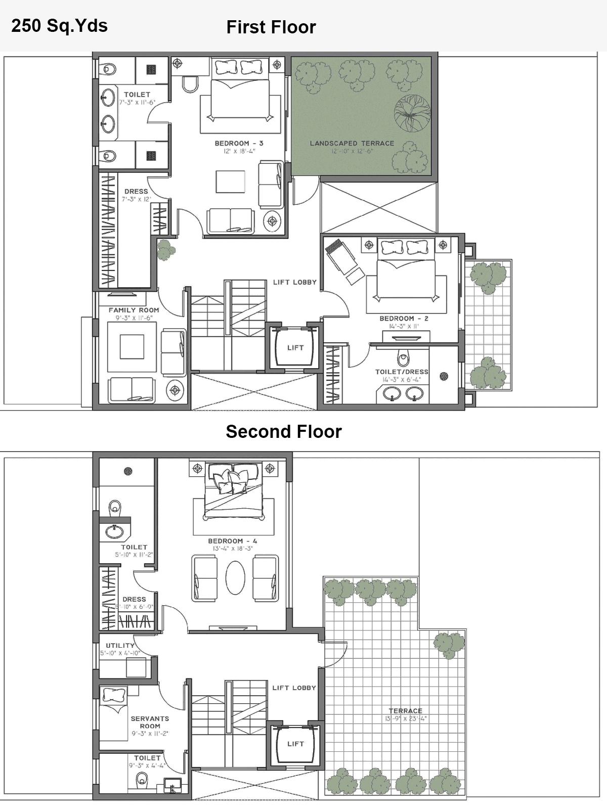 vissionaire villa floor plan