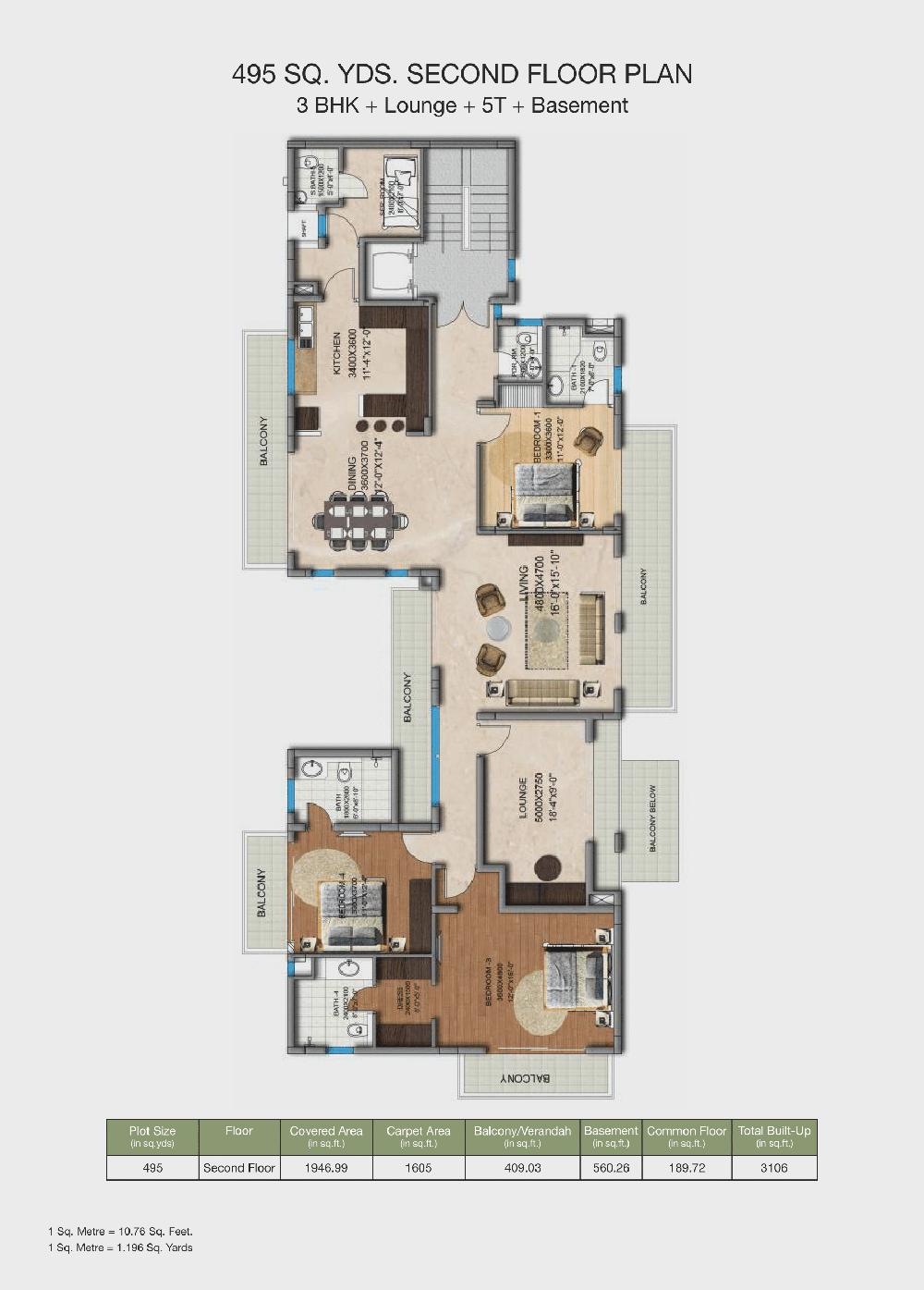 amstoria floor plan