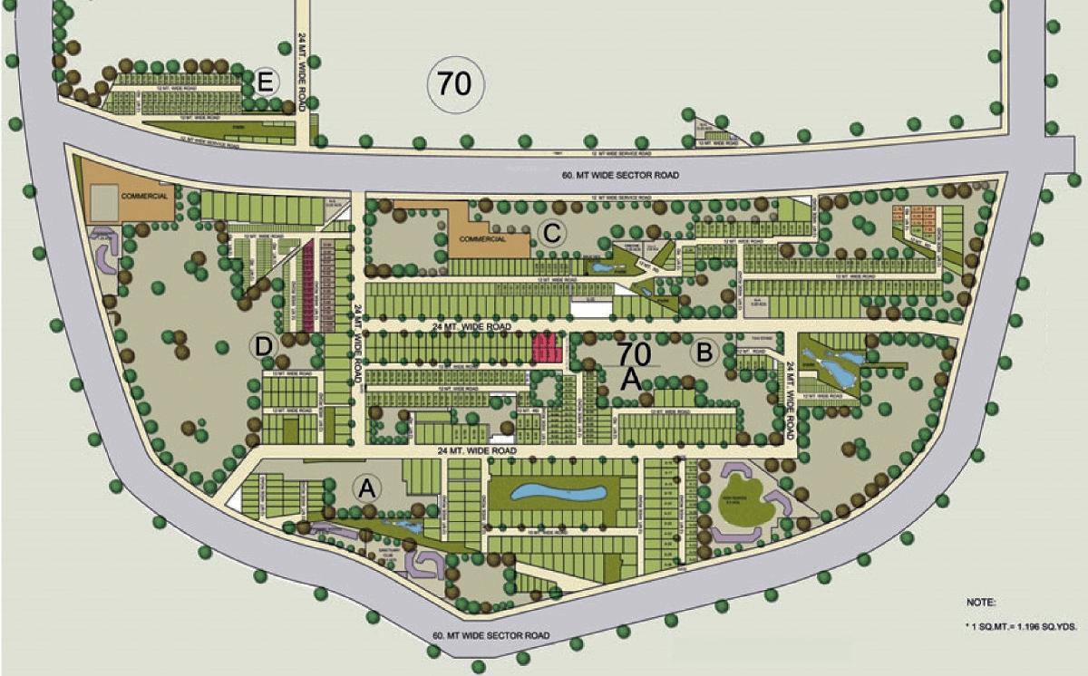 astaire garden site plan