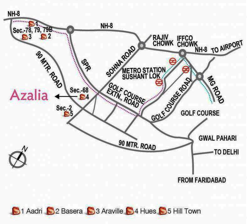 supertech azalia location map