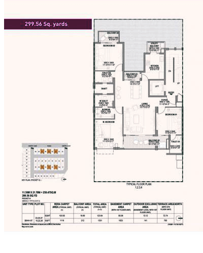 Birla Navya Floor Map