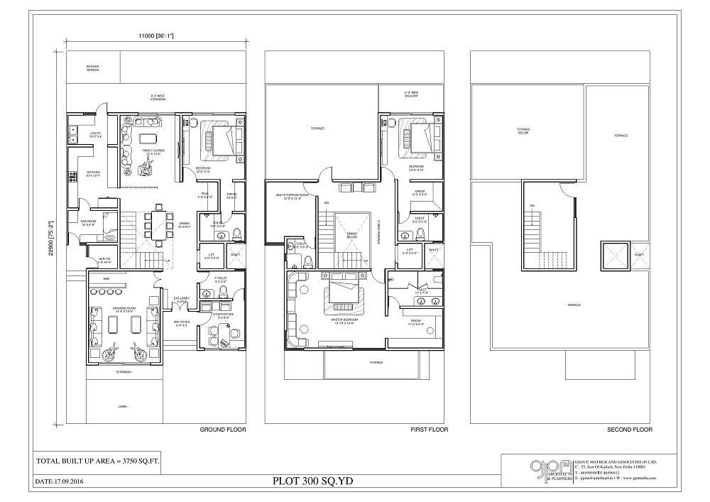 fleur villa  floor plan