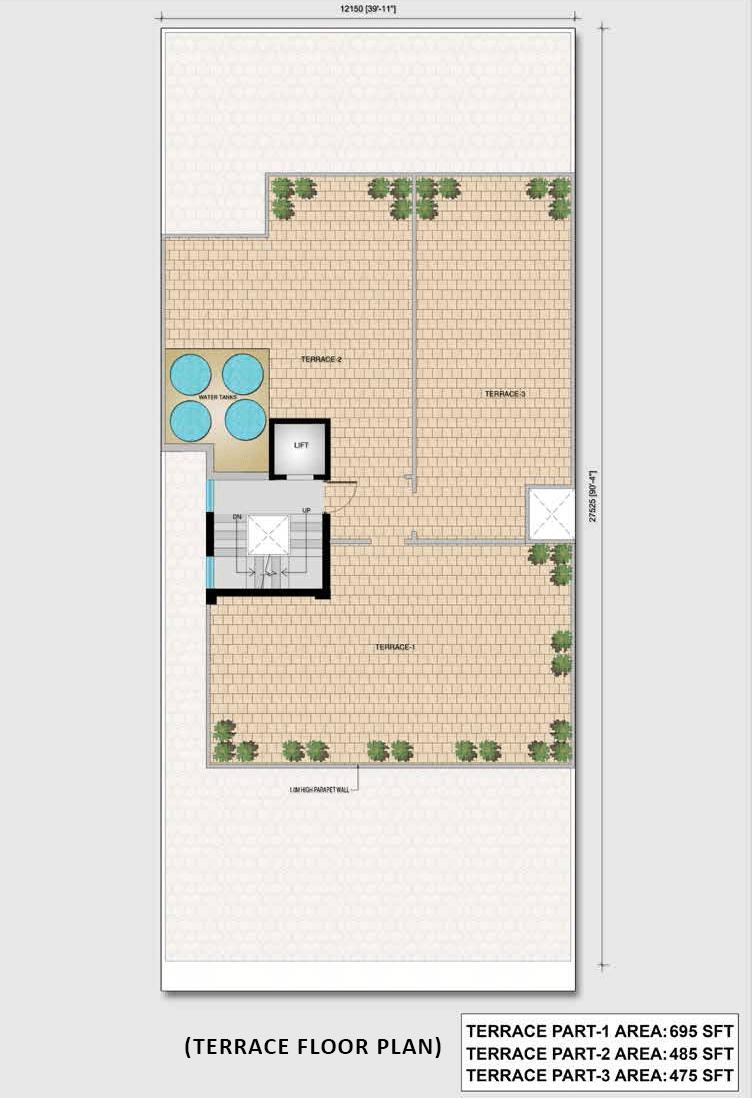 clover floor plan