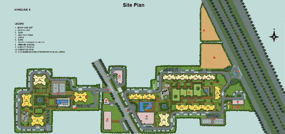 dlf site plan