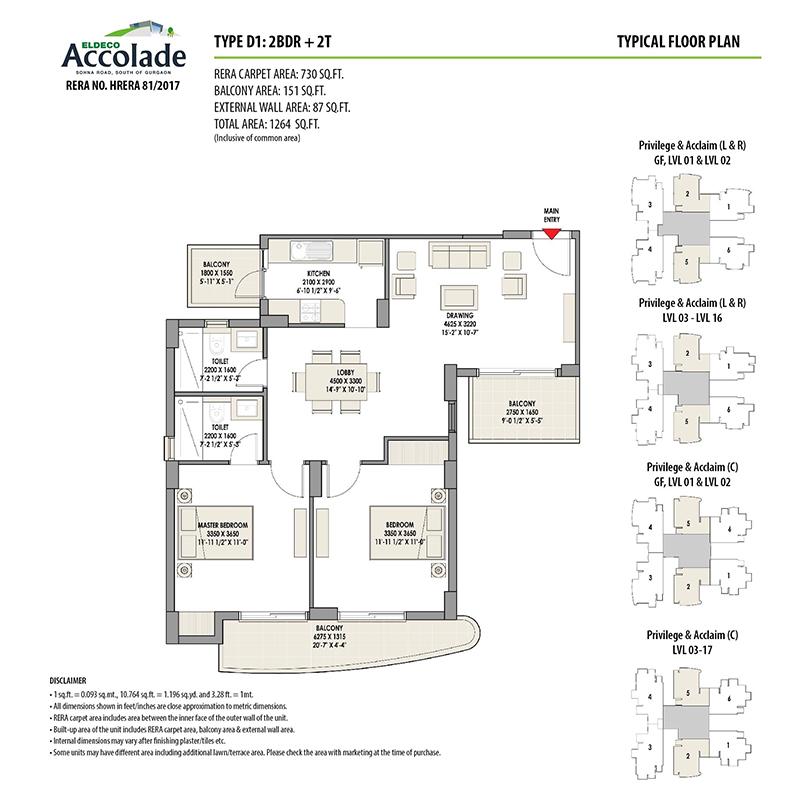 eldeco floor plan