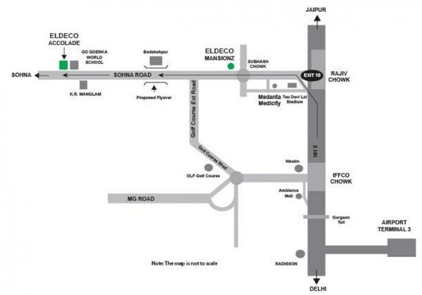eldeco location map