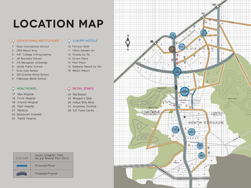 ild location map