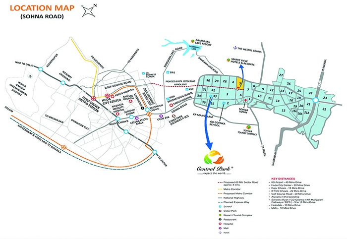 flamingo location map