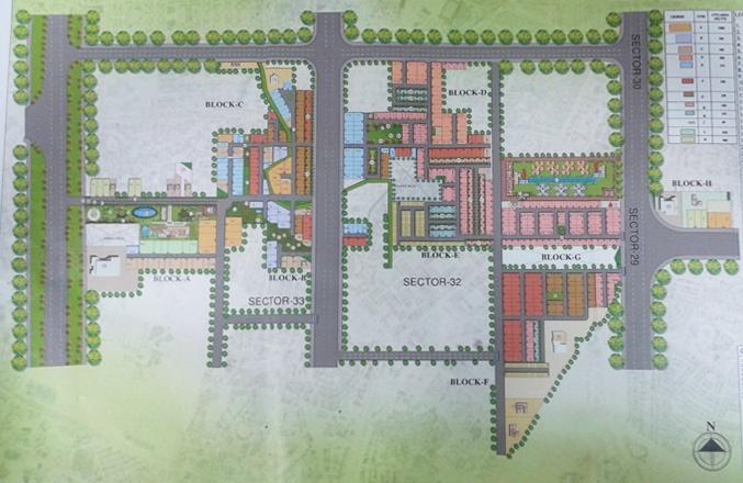 fleur villa site plan