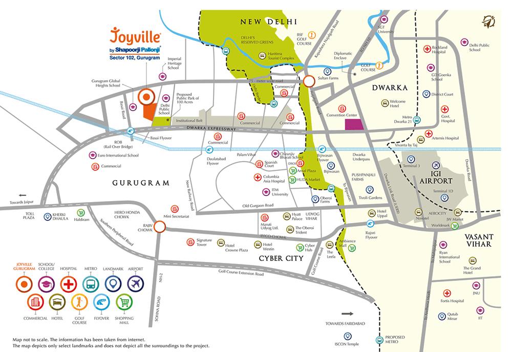joyville location map