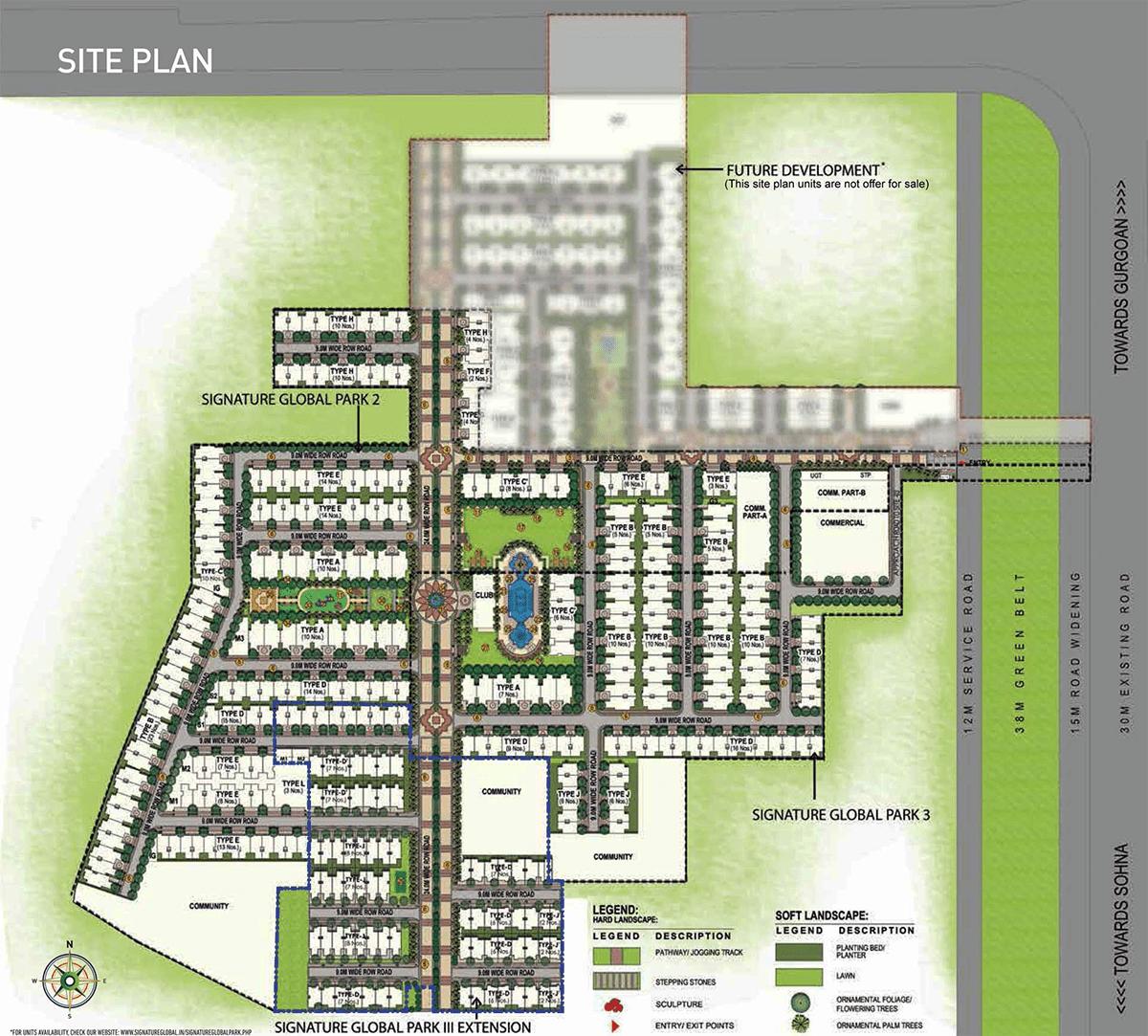 signature park location map