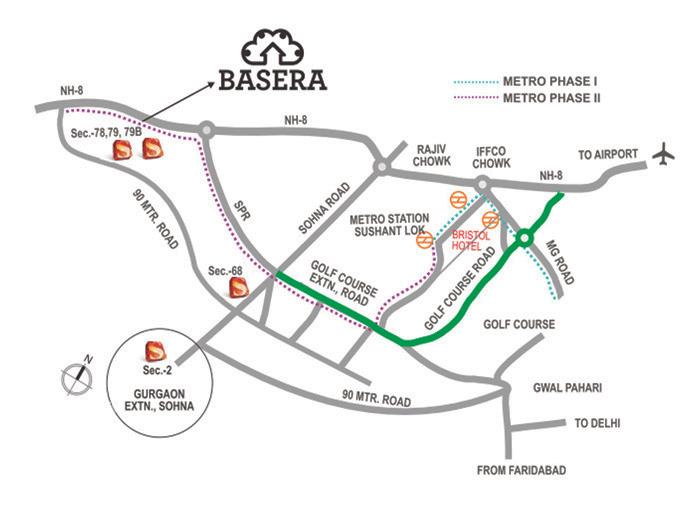 supertech basera location map