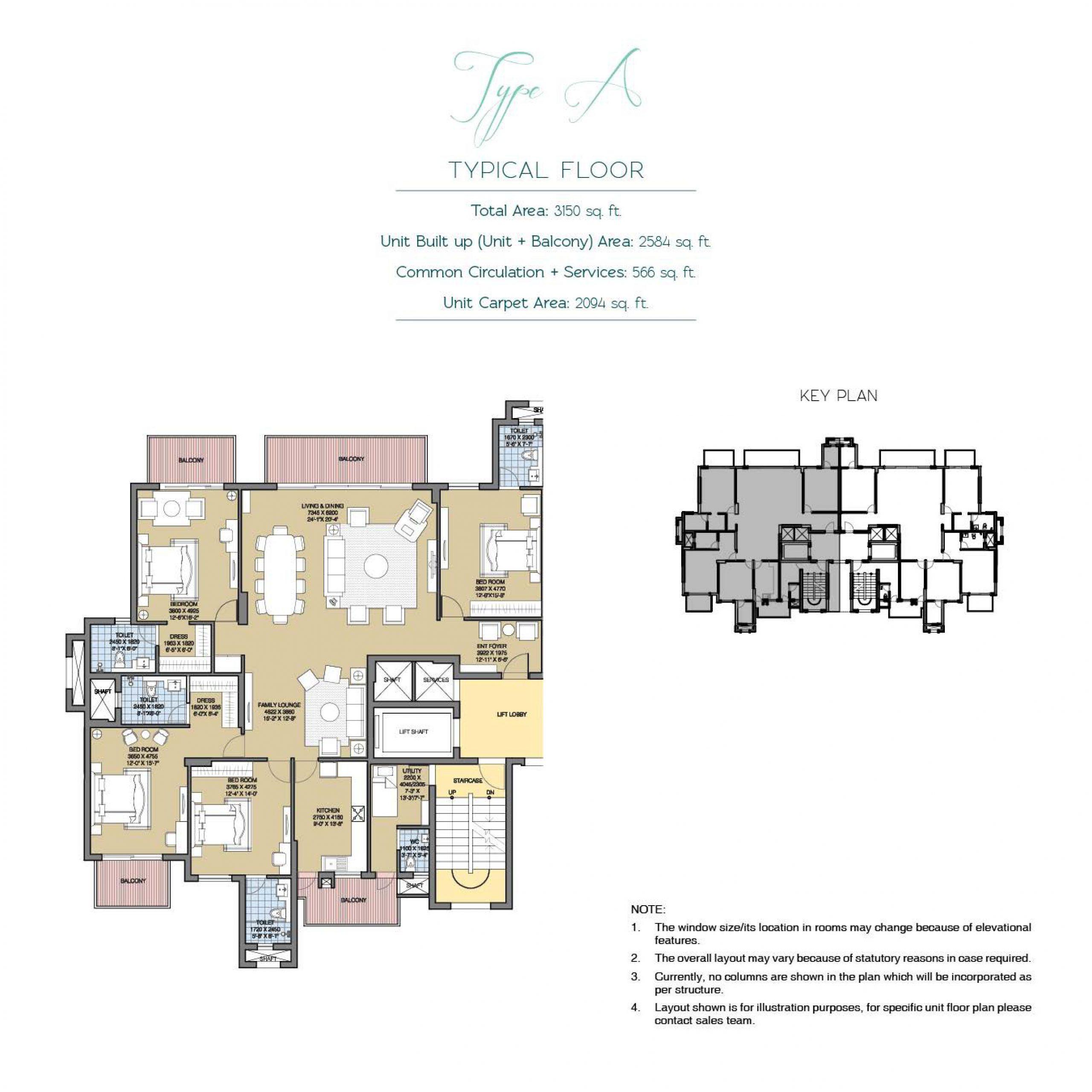 ATS Floor Plan