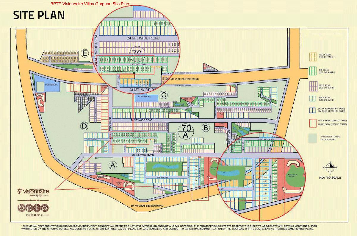 visionaire site plan
