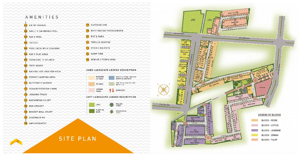 signature global 37D site plan